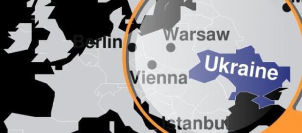 Die Ukraine im Fadenkreuz.