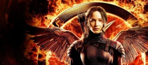 Jennifer Lawrence en Los Juegos del Hambre:Sinsajo