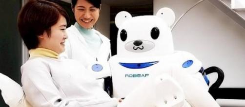 Es un robot pensado para el cuidado de ancianos