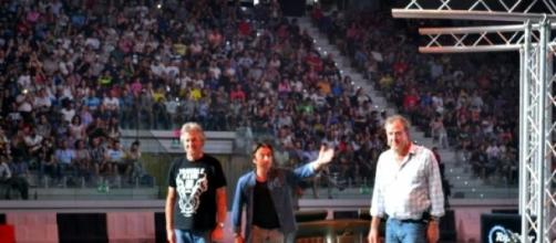 Top gear presenters at live show