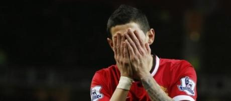 Misery personified after his sending off