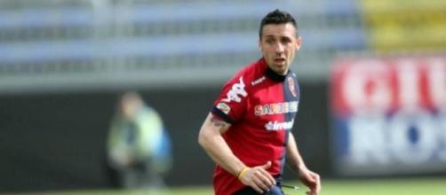 Cossu centrocampista del Cagliari