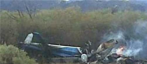 Dois helicópteros colidiram