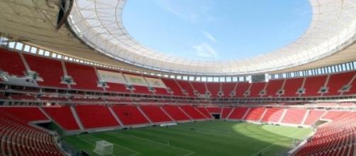 Estádio vai acolher três secretarias federais.