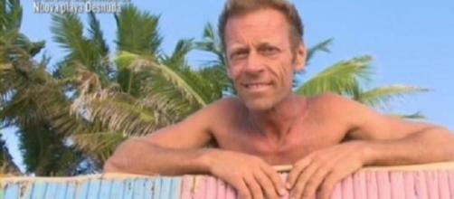 Rocco Siffredi a Playa Desnuda.