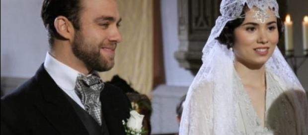 Fernando Mesia e Maria sposi