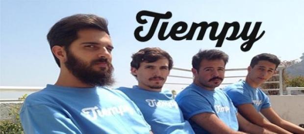 Matías Nisenson y su equipo de trabajo de 'Tiempy'