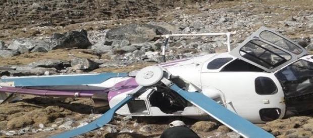 Scontro fra due elicotteri in Argentina