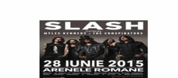 Slash la Arenele Romane, Bucuresti