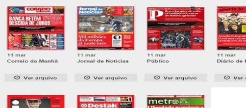 Capas dos generalistas de 11/03/2015