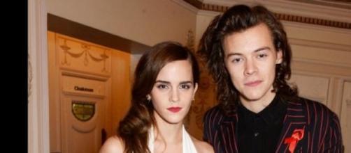 Emma Watson y Harry Styles, juntos.