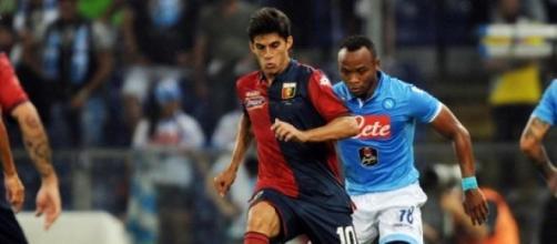il centrocampista rossoblu Perotti