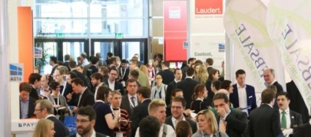 E-Commerce auf der Internet World Messe.