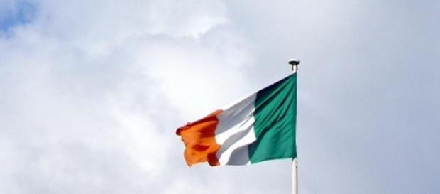 La bandiera dell'Irlanda.