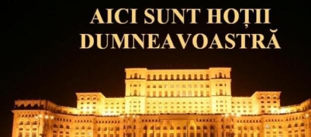 Parlamentarii romani nu au nici o rusine