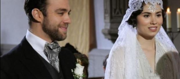 Quando Maria era felice col marito