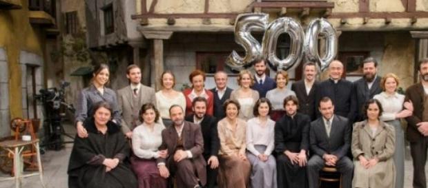 Una bella foto del gruppo al completo
