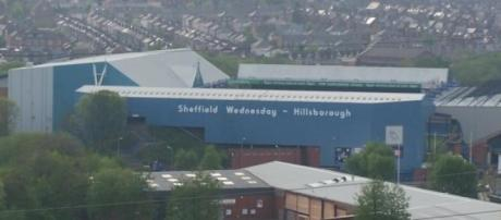 Hillsborough Stadium from a distance