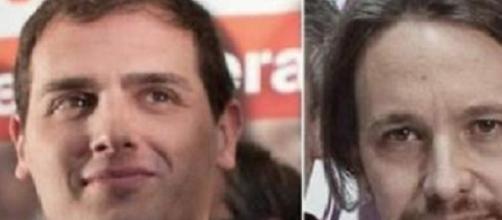 Albert Rivera y Pablo Iglesias, C's y Podemos