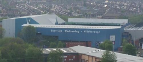 Hillsborough Stadium from a distance