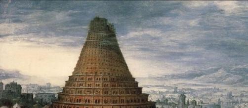 La torre di Babele in attesa della lingua italiana