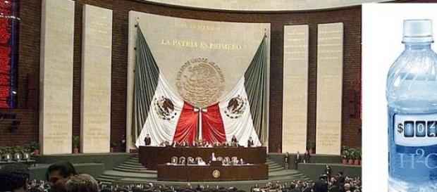 El Congreso camino a privatizar el agua en México.
