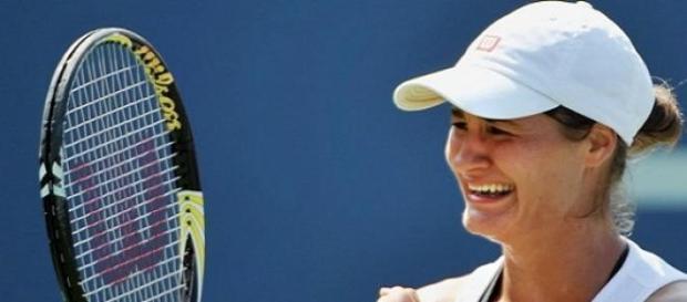 Jucatoarea de tenis Monica Niculescu Indian Wells