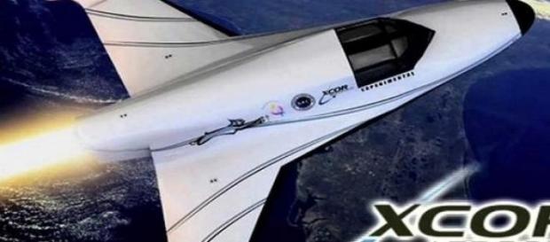 Nava XCOR pentru turisti in spatiul cosmic