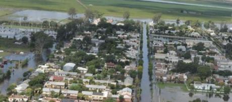 Inundaciones en Idiazabal
