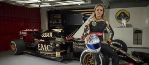 Carmen Jordá vai pilotar um Lotus