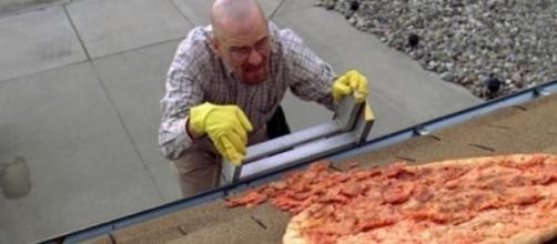 Una de las escenas épicas, la pizza en el tejado