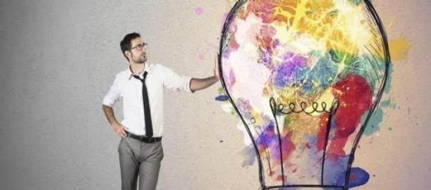 A criatividade é a alavanca para dar o salto.