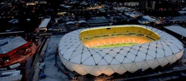 Arena da Amazônia, em Manaus (Foto: Reprodução)