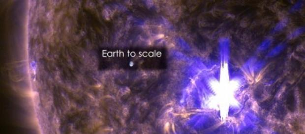 Eruptie solara puternica