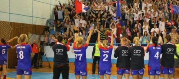HCM Baia Mare porneste ca favorita in ultimul meci