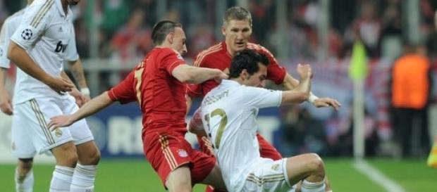Ribery, gerne hart an der Grenze des Erlaubten.
