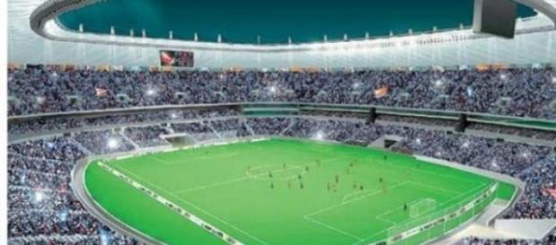 Stadionul Mane Garrincha.