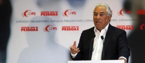 António Costa, líder do Partido Socialista.