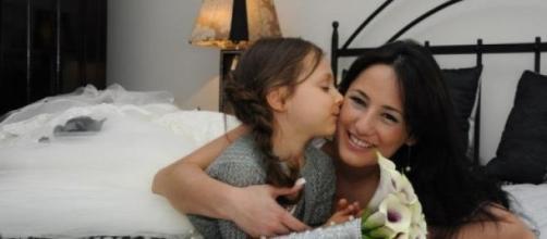 Juliana Silva e a sua filha, Ana Lia.