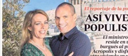 La polémica portada del ABC sobre Yanis Varoufakis
