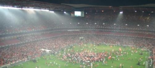 O Benfica deu mais um passo rumo ao título