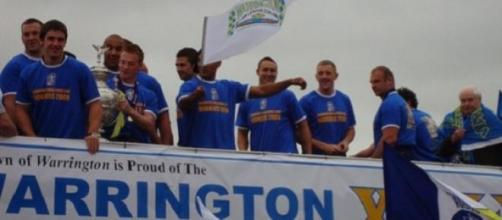 Warrington ended the Rhinos winning run