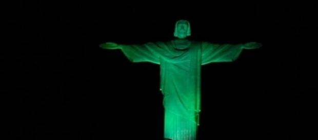 Cor verde vai iluminar alguns monumentos de Lisboa
