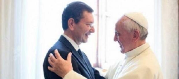Il Papa e il Sindaco Marino