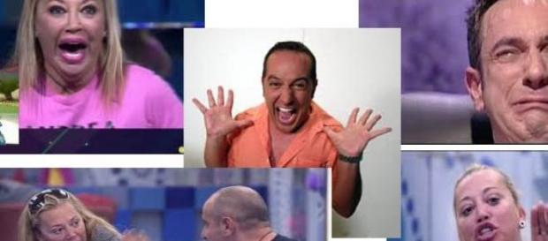 Víctor Sandoval traicionó a Belen Esteban al salir