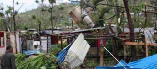 L'archipel est complètement détruit par le cyclone