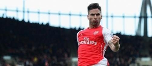 Olivier Giroud scored Arsenal's opener