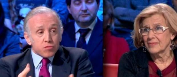 Manuela Carmena entrevistada en 'La Sexta Noche'