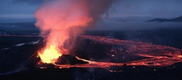 Vulcanul Krafla - locul unde a aterizat diavolul