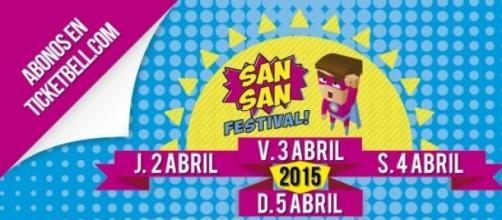 Festival SANSAN los días 2, 3, 4, y 5 de abril.